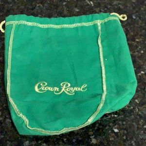 Green Crown Royal Bag